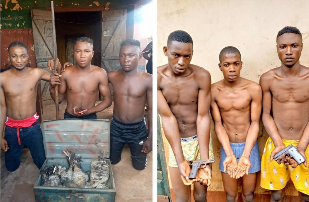 Suspected Kidnappers, Robbers Arrest In Kogi (Photos)