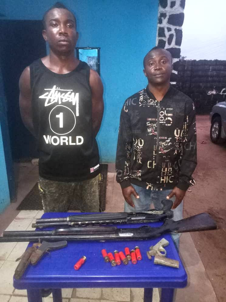 Police Arrest 2 Armed Robbers In Imo (Photo)
