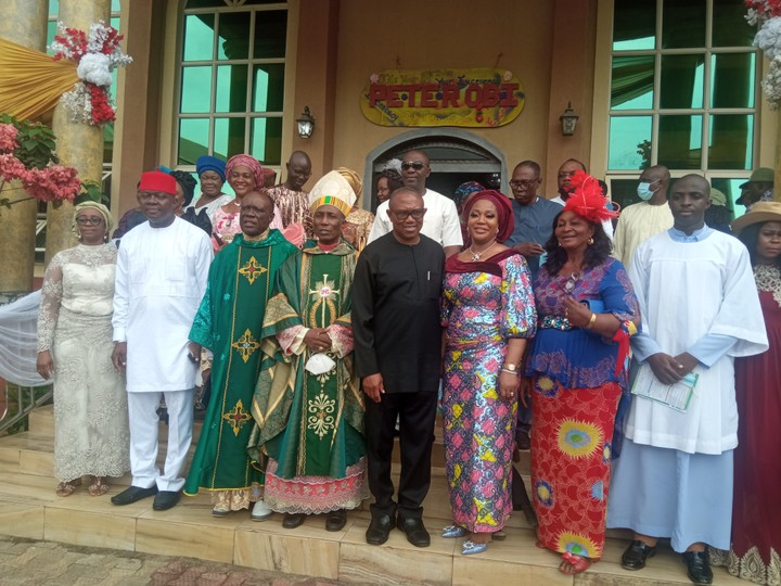 Peter Obi @ 60: Pictures From His Thanksgiving Service