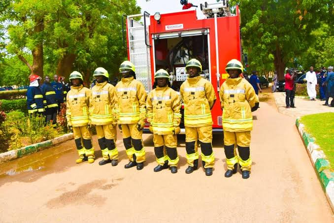 Yobe To Drill Boreholes In All Fire Stations, Receives New Firefighting Truck