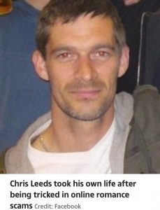 Single Dad Commits Suicide After Being Tricked Into Sending £500 To Woman (Pix)
