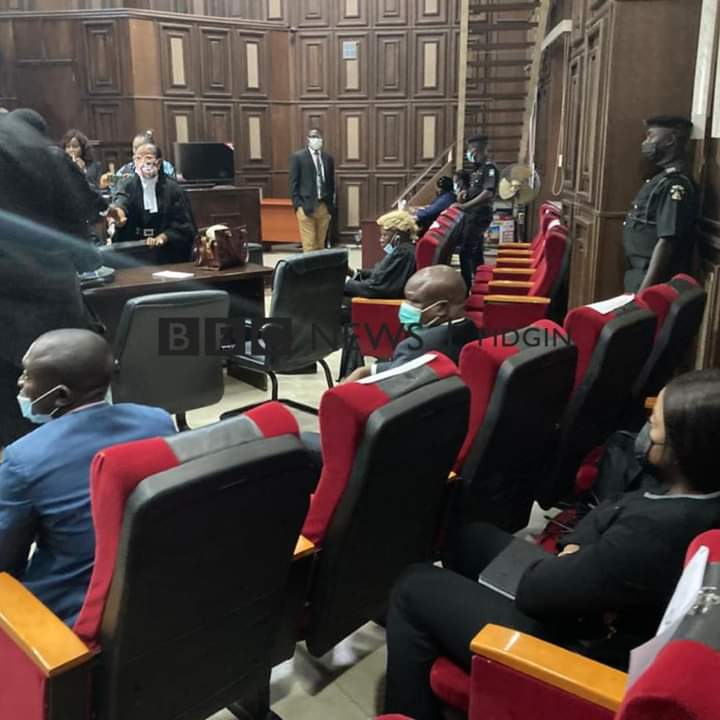 Nnamdi Kanu's Trial: Inside The Court Room (Photos)