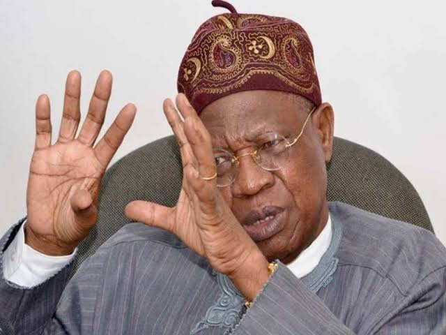 Lai Mohammed Accuses Nigerians In Diaspora Of Financing Secessionist Groups