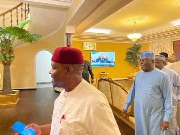 Atiku Visits Governor Wike In Rivers State (Photos)