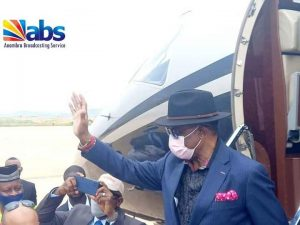 Governor Obiano Lands In Anambra International Airport