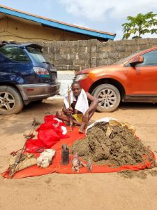 Herbalist Arrested For Preparing Charms For IPOB, Bomb, Charms, Weed Recovered