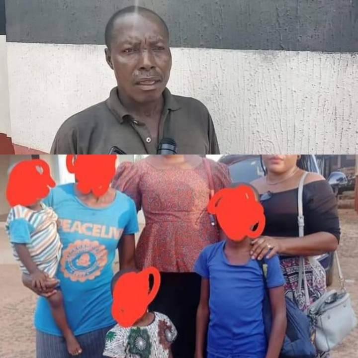 48-Year-Old Man Arrested For Defiling His 3 Daughters In Anambra (Photo)