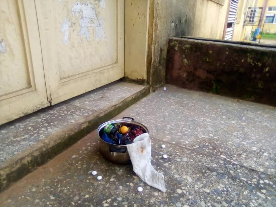 Aggrieved Student Leaves 'Sacrifice' In Lecturer's Office In Michael Okpara University