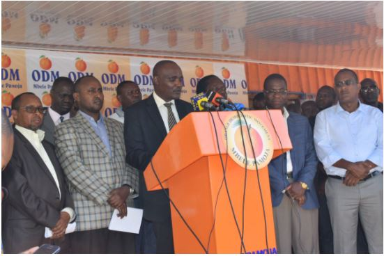 ODM Reveals When Alliance With Jubilee Will be Finalised Amid reports of Gideon Moi Teaming up with Uhuru and Raila