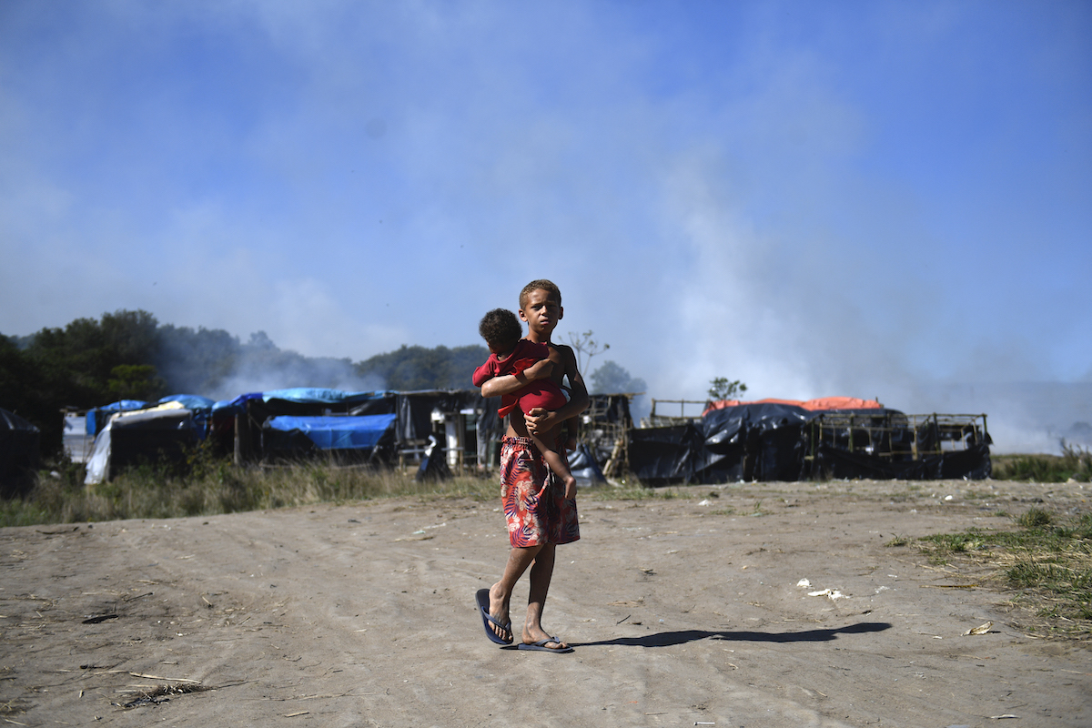 Brazil evicted poor families from land that was not even used by Petrobras