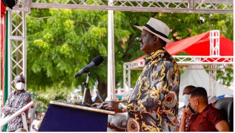 """Raila's message to President Uhuru: """"we are going to invite you to become a NASA member"""""""