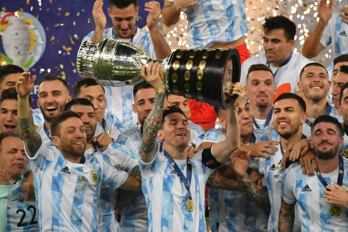 Messi Lifts His First International Trophy With Argentina