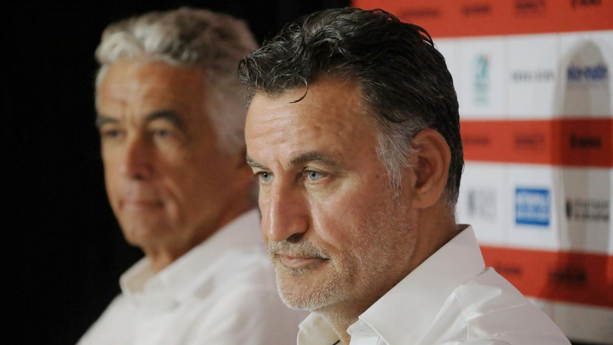Nice: Christophe Galtier cancels the friendly match planned against ASSE