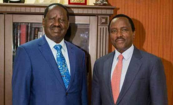 Betrayal Looms In Okoa Kenya Alliance As Kalonzo Allegedly Had a Secret Meeting With Raila Leaving Co-Principles In The Dark