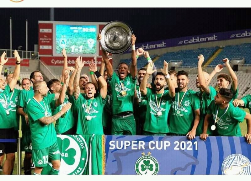 Abdullahi Thrilled To Win Cypriot Super Cup With Omonia Nicosia