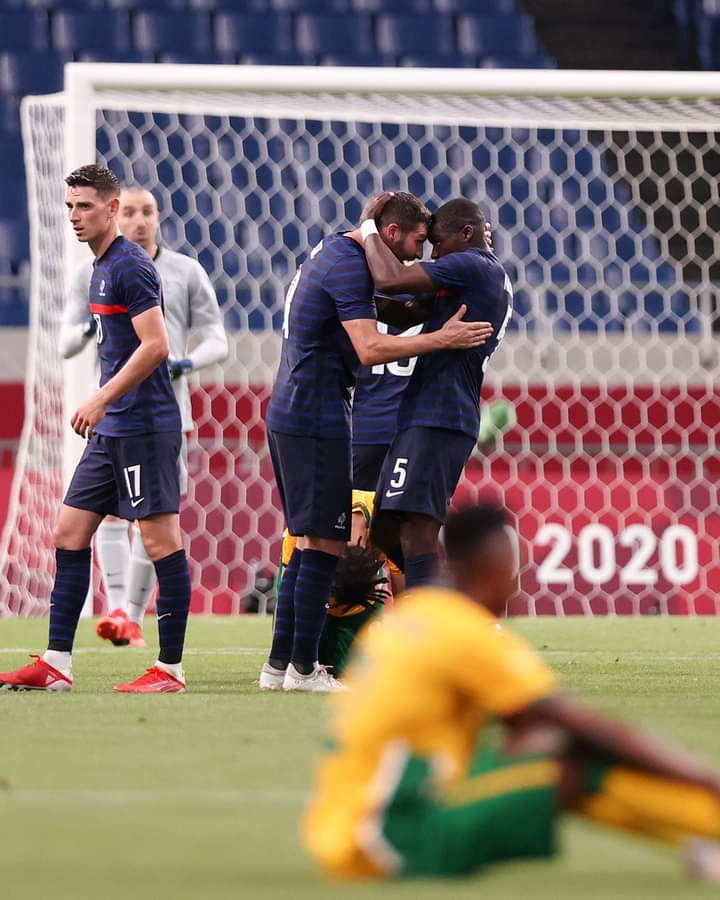 Andre-Pierre Gignac Scored A Hat-Trick And Then Assisted A Last-Minute Winner For France Against South Africa