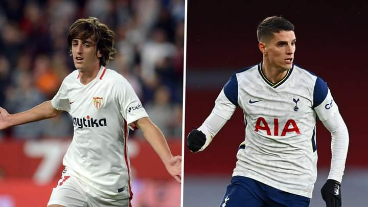 Bryan Gil Joins Tottenham On A Permanent Deal From Sevilla