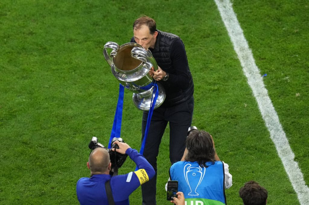 Chelsea Boss, Thomas Tuchel Named Germany's Manager Of The Year