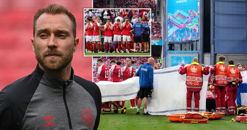 Christian Eriksen To Return To Inter Milan For Medical Checks Before Deciding If He Can Return To Football' After Suffering A Cardiac Arrest At Euro 2020