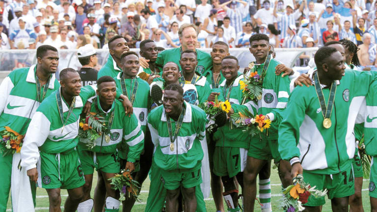 Dream Team Atlanta 1996 Feat Listed Among Most Memorable Football Moments At The Olympics