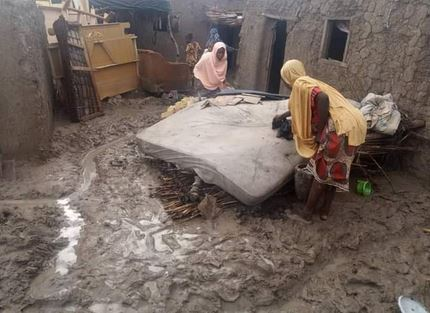 Residents Count Their Losses As Flood, Fire Destroy Homes In Jakusko, Yobe (Photos)