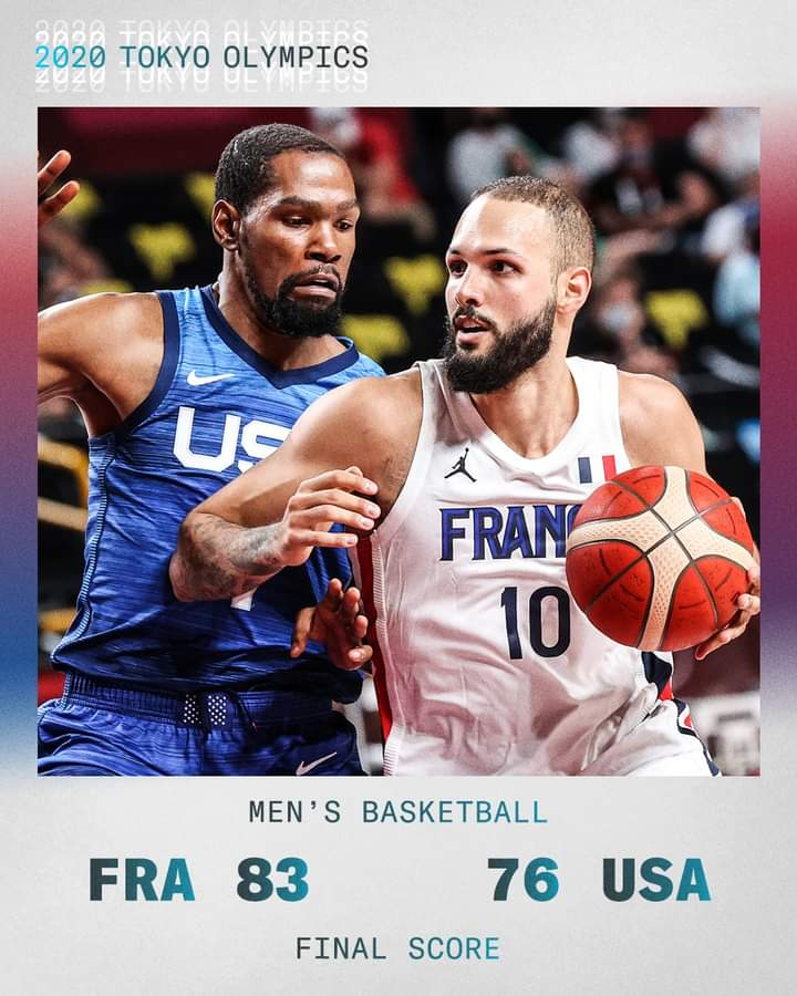 France Hands The U.S. Men's Basketball Team Their First Loss In The Olympics Since 2004