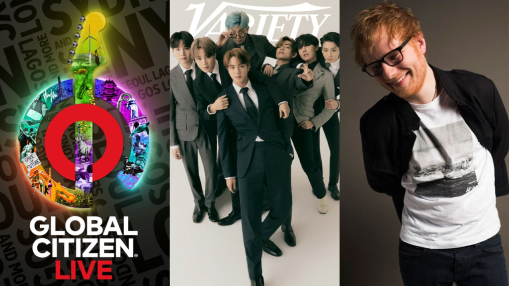 'Global Citizen Live' to Feature BTS, Ed Sheeran, the Weeknd and Lorde