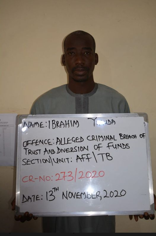 Man Caught After Allegedly Stealing N10m in Kano (Photo)