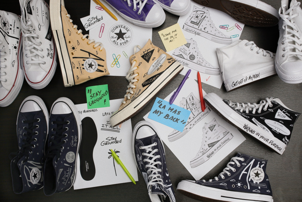 Issa Rae Teams and Converse Team Up for Chuck 70 Collection