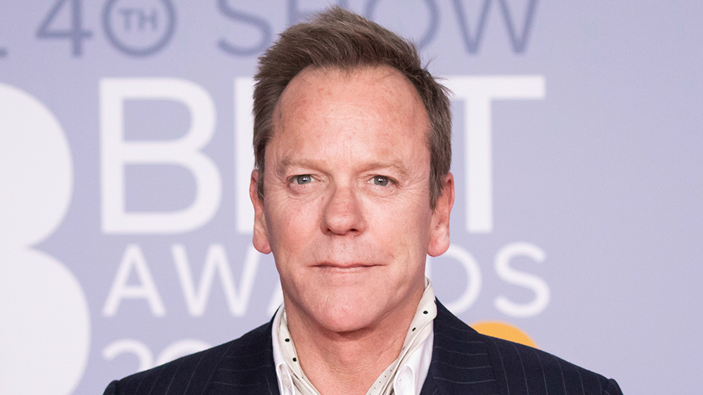 Kiefer Sutherland Cast as Franklin Roosevelt in 'The First Lady'