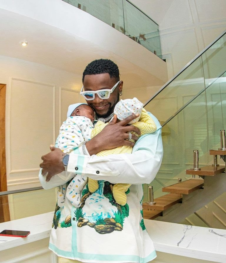 Kizz Daniel purchases houses for his Twin babies