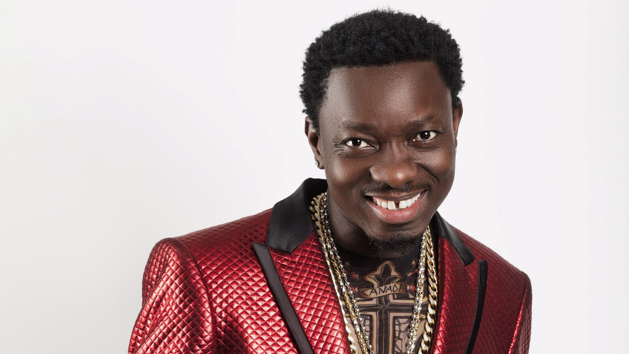 Michael Blackson proposes to girlfriend live on air