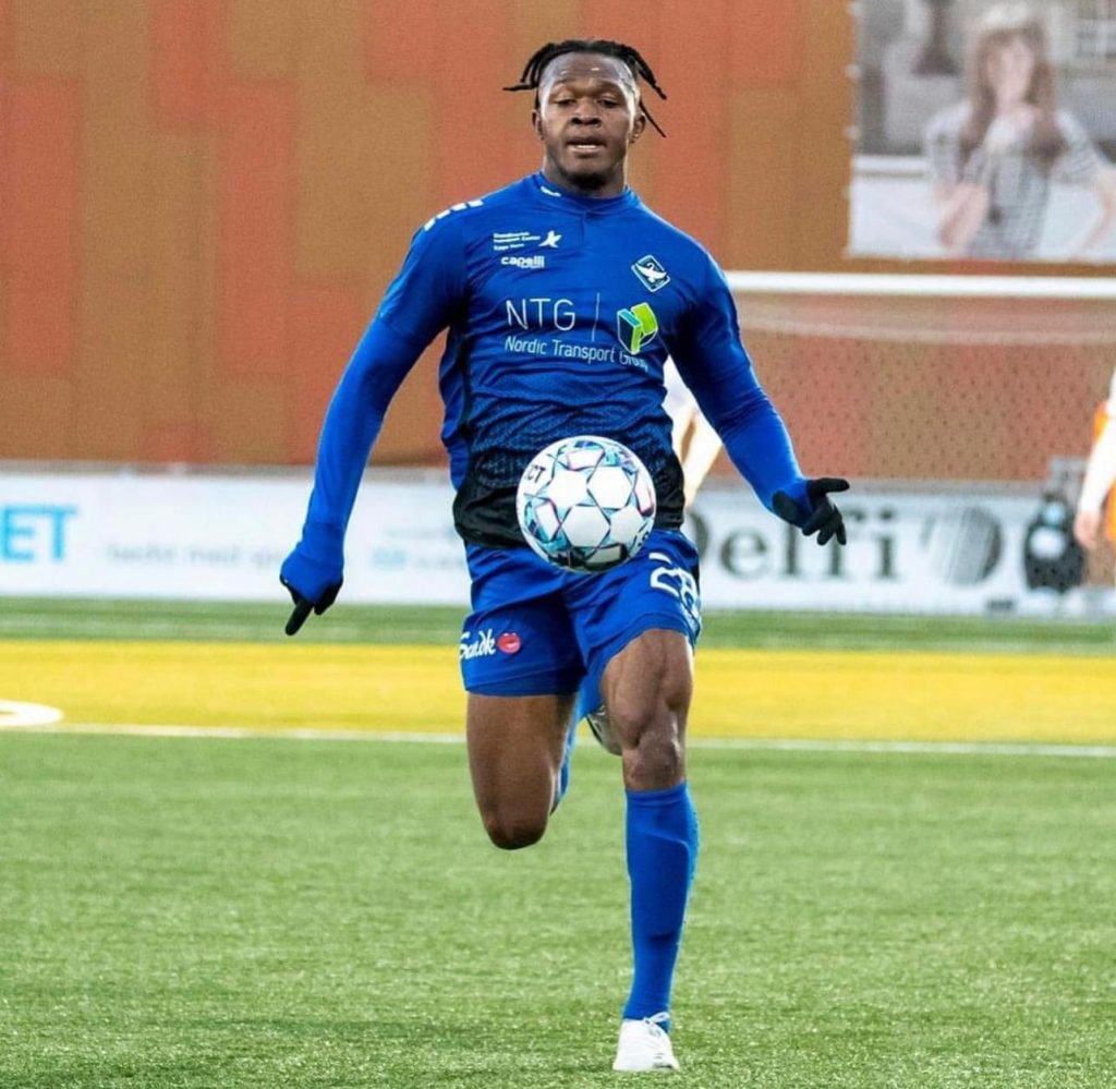 Nsungusi Jnr Effiong Starts In HB Køge Win Over AC Horsens