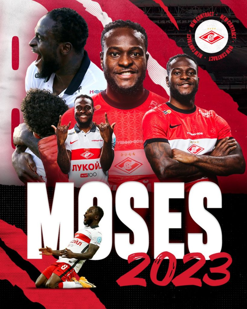 OFFICIAL: Moses Swaps Chelsea For Spartak Moscow