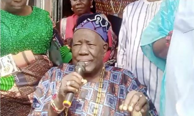 Yoruba Nation: Protesters Meet Olubadan, Demand Release Of Igboho's Aides Within Seven Days