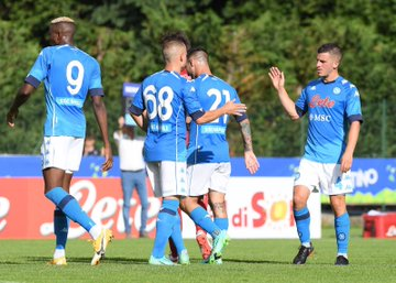 Osimhen Elated To Be Back In Action For Napoli