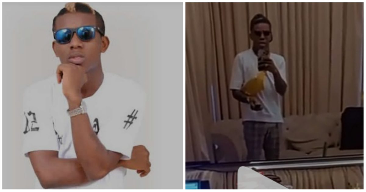 """""""Local man was shocked"""" – Nigerians react as Small Doctor expresses shock after what he thought was a mirror turned out to be a TV (Video)"""
