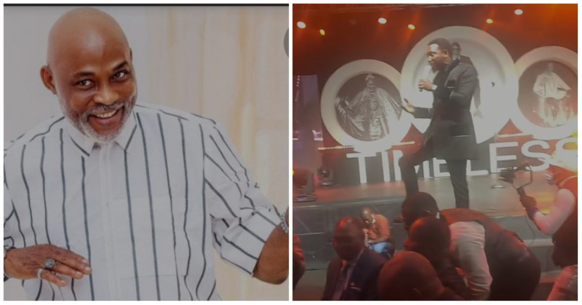 """Watch as Timi Dakolo performs """"Flying without wings"""" at RMD 60th birthday (Video)"""