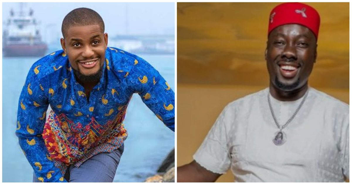 """""""Mumsy don win ghost of the year for Heaven"""" Alex Ekubo to Obi Cubana (Video)"""