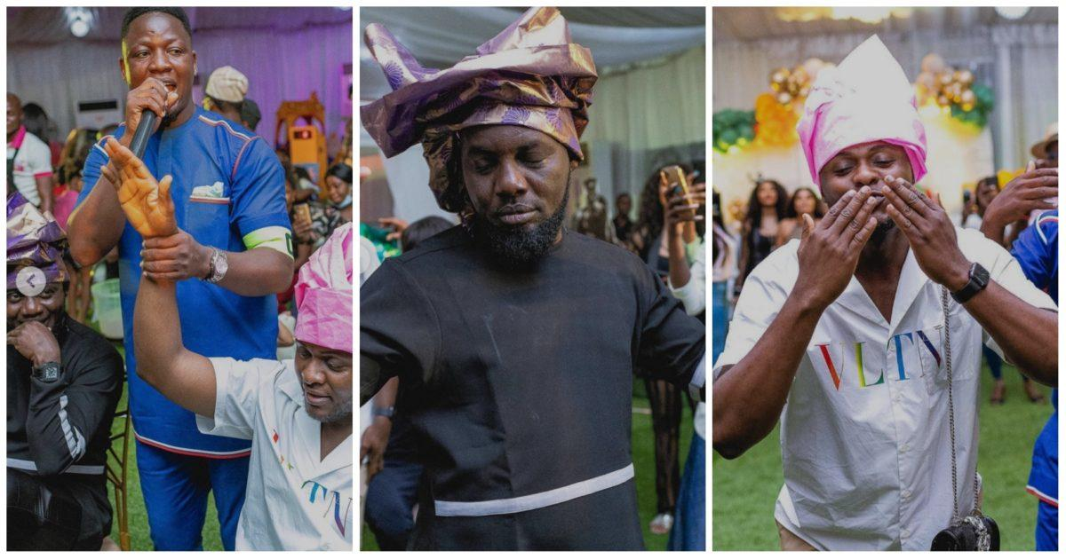 AY Comedian, Yomi Casual, Ubi Franklin and others slay as women at an event (Photo)