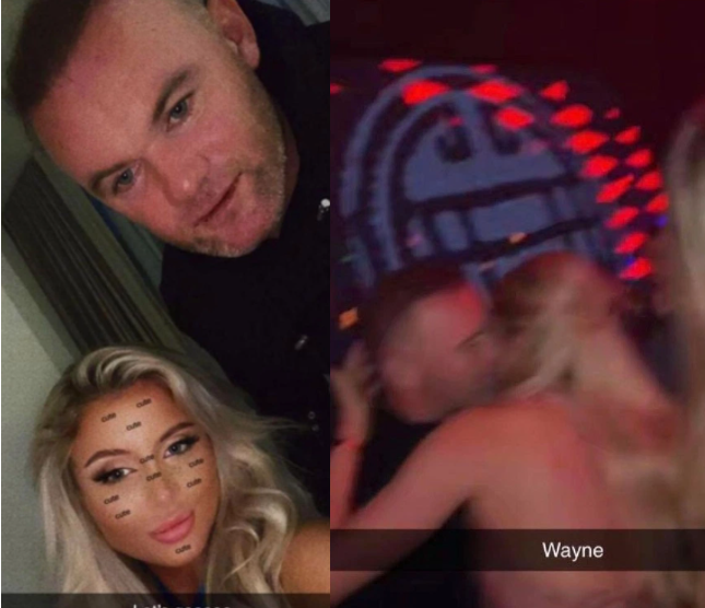 Photos Of Wayne Rooney Passed Out In Hotel With Semi-Naked Girls Emerges