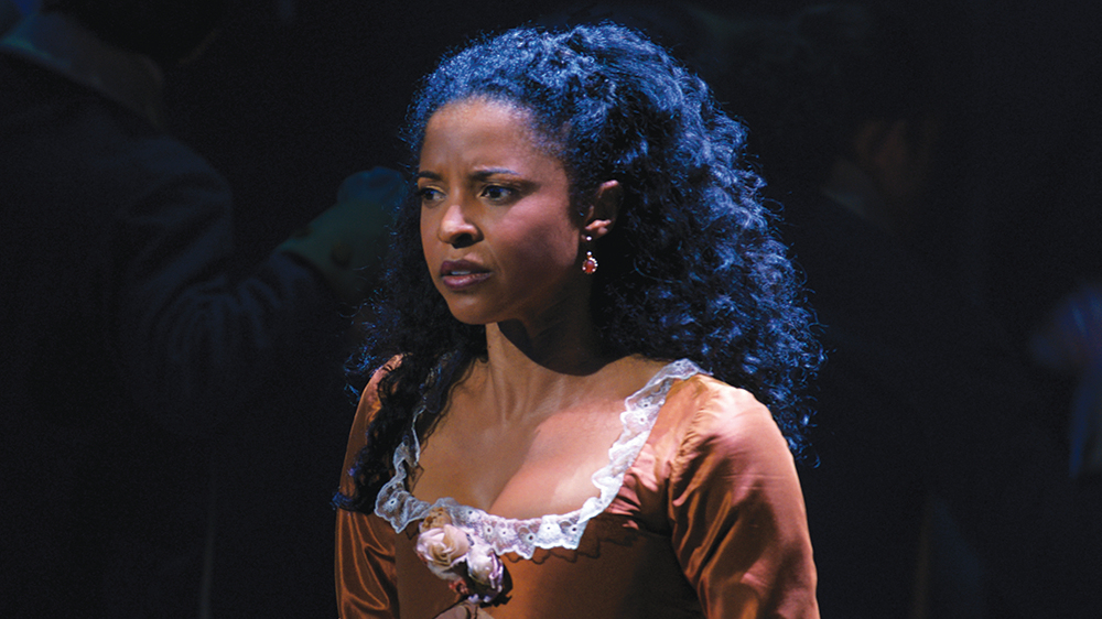 Reneé Elise Goldsberry on the Moment That Tripped Her in 'Hamilton'