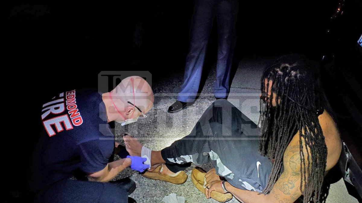 Richard Sherman & Cops Suffered Bloody Wounds In Altercation, Police Photos Show