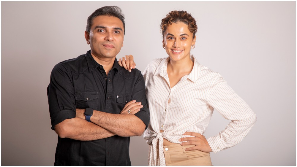 Taapsee Pannu Launches Production House Outsiders Films