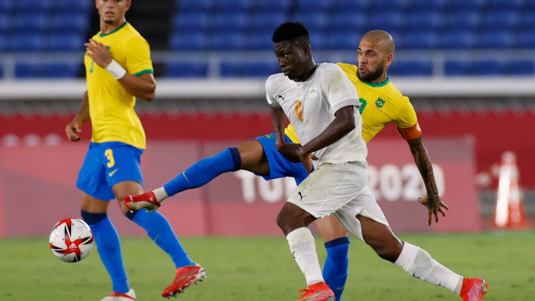 Tokyo 2020 Football: Cote d'Ivoire Hold Brazil To Draw As France Edge South Africa In Seven-Goal Thriller