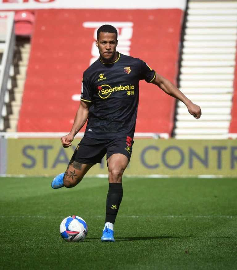 Troost-Ekong Elated To Have Fans Back At Vicarage Road