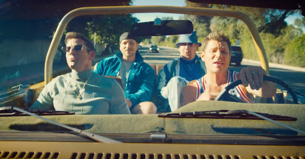 Watch 98 Degrees Cruise Back in Time in 'Where Do You Wanna Go' Video