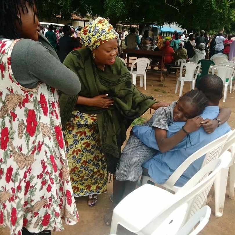 Tears Of Joy Flow Freely As 28 Released Bethel Students Reunite With Parents In Kaduna (Photos)