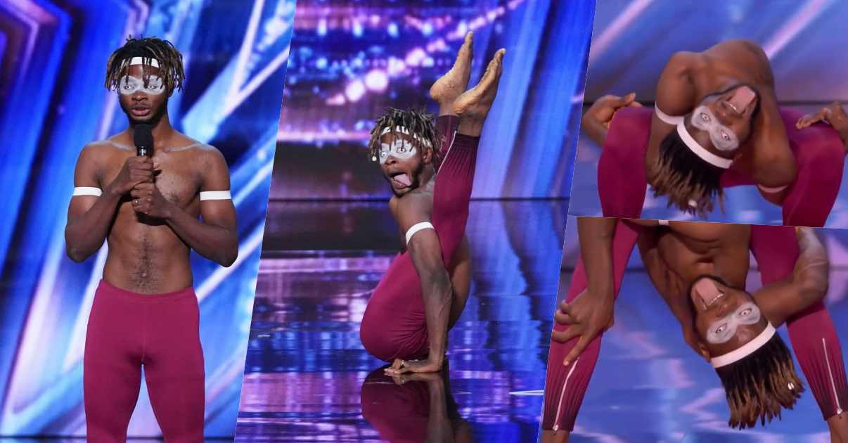 Talented Nigerian melts hearts with his performance at America's Got Talent show (Video)