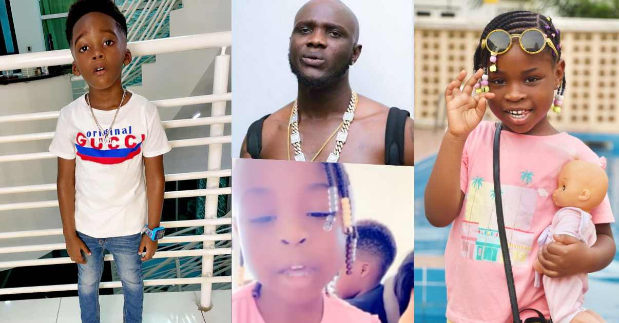 Davido's daughter and Tiwa Savage's son reveal their fondest memories of late Obama DMW (Video)